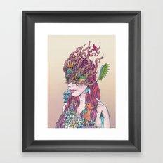 Before All Things Framed Art Print
