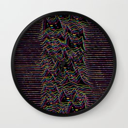 Furr Division Glitch Wall Clock