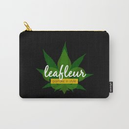 Leafleur Magazine : Partake in Style Carry-All Pouch
