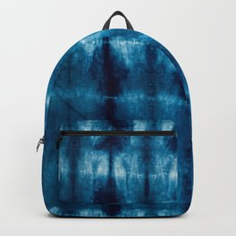 indigo shibori Backpack