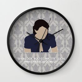 His Last Vow - Janine Wall Clock
