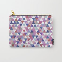 Patterned Triangles #triangle Carry-All Pouch