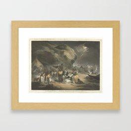 African Hospitality, John Raphael Smith, after George Morland, 1762 - 1812 Framed Art Print