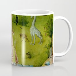 "Hieronymus Bosch ""The Garden of Earthly Delights"" - The Heaven or The Creation Coffee Mug"