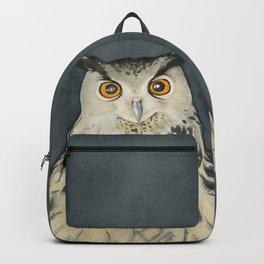 Owl. Gufo. Saggezza. Wisdom Backpack