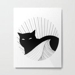 Watchful Metal Print