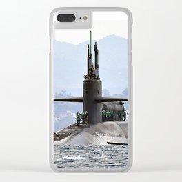 USS FLORIDA (SSBN-728) Clear iPhone Case