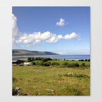 irish Canvas Prints featuring Irish Countryside by Nadia Bonello - Trū Artwear