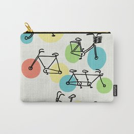Riding Bubbles Carry-All Pouch