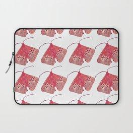 Leopard Moths in Pink Laptop Sleeve