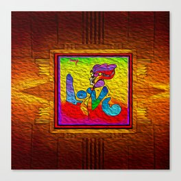 LOVE IN THE TIME OF ELEVATORS-2 Canvas Print
