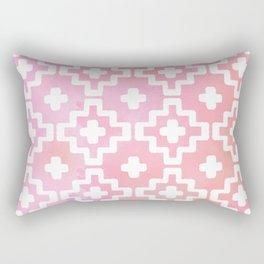 Ethnic Pink Rectangular Pillow