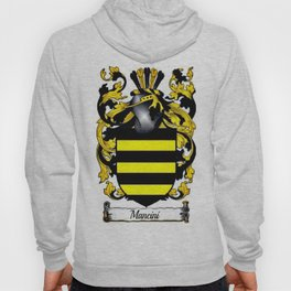 Family Crest - Mancini - Coat of Arms Hoody