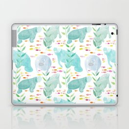 Lazy Manatees Laptop & iPad Skin