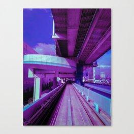 Yurikamome Line Canvas Print