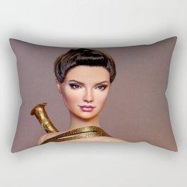 Diana in Training Rectangular Pillow