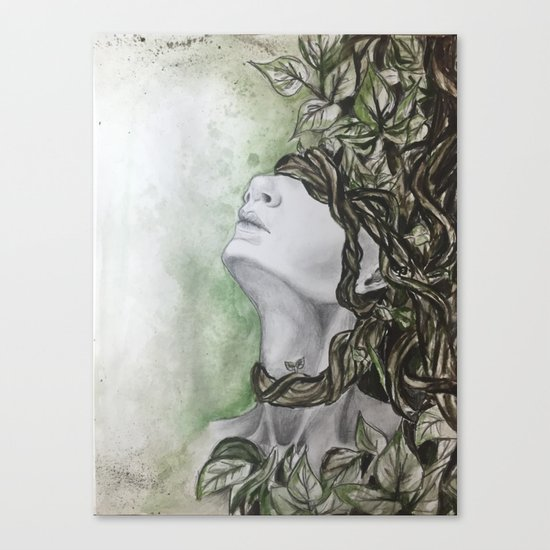 Overgrown Canvas Print