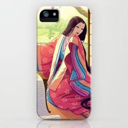 Murasaki Shikibu iPhone Case