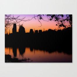 Philadelphia Sunrise Canvas Print