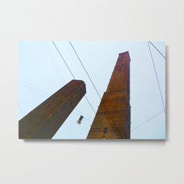 """""""Skyscraper"""" in Bologna Metal Print"""
