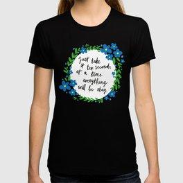 Ten Seconds - Lime T-shirt