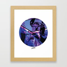 Lampre Colours Framed Art Print