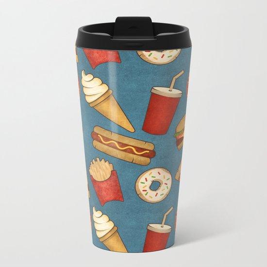 Fast Food Metal Travel Mug