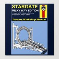 stargate Canvas Prints featuring Stargate by Paul Elder