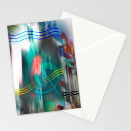 Listen to the Music! Stationery Cards