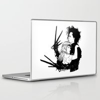 edward scissorhands Laptop & iPad Skins featuring Edward Scissorhands by Gregory Casares
