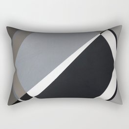 London - hexagon Rectangular Pillow