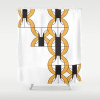 climbing Shower Curtains featuring Climbing pq by Sandra Perez