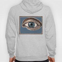 Engraved Eye Study in Color Hoody