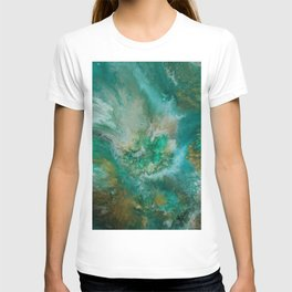 Dawning of a Galactic Planet T-shirt
