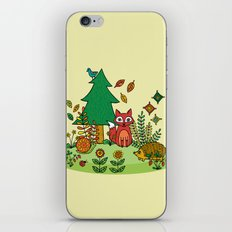 Woodland Critters iPhone & iPod Skin