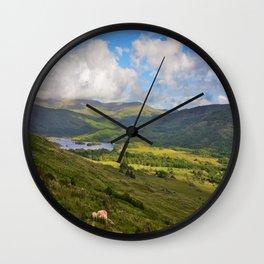 The Black Vally Wall Clock
