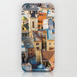 Colors of city iPhone Case