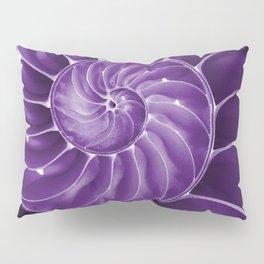 Ultra Violet Chambered Nautilus 2 Pillow Sham