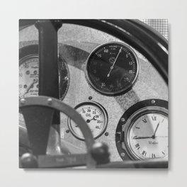 Vintage Car 6 Metal Print