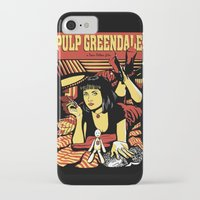 pulp iPhone & iPod Cases featuring Pulp Greendale by Shana-Lee