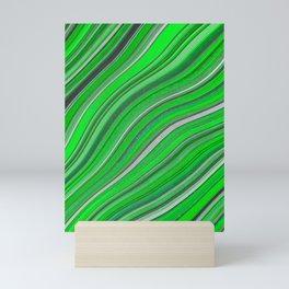 Wild Wavy Lines 33 Mini Art Print