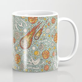 The Asteroid & the Omega Coffee Mug