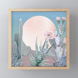Desert Twilight by Nature Magick Framed Mini Art Print