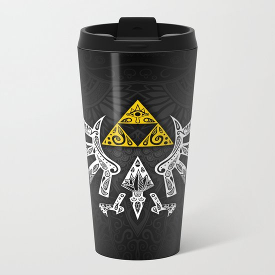 Zelda Hyrule Metal Travel Mug