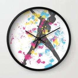Hip Hip Dancer Wall Clock