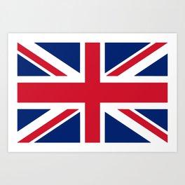 Flag of the United Kingdom Art Print