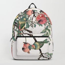 Pomegranate and Lovebirds Backpack