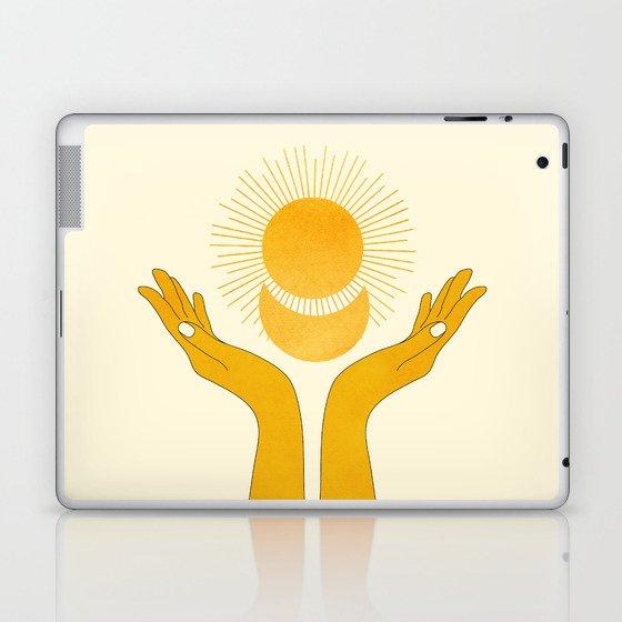 Holding the Light Laptop & iPad Skin