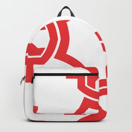 just red Backpack