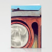 jeep Stationery Cards featuring Jeep by Shannon Rutherford